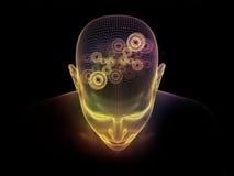 Olśniewający umysł ilustracja wektor