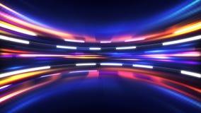 Olśniewający zaawansowany technicznie abstrakcjonistyczny tło Zdjęcia Stock