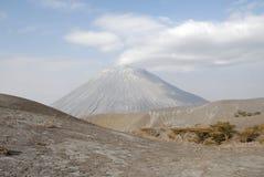 Ol Doinyo Lengai volcano, Great Rift Valley, Tanzania, Eastern Africa Royalty Free Stock Photography