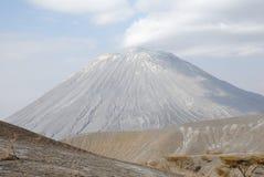 Ol Doinyo Lengai wulkan, Wielki rift valley, Tanzania, Wschodni Afryka Zdjęcia Royalty Free