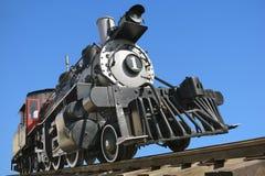 Ol-Eisenbahnlokomotive Stockfoto
