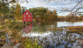Ol Grist Mill Stock Photo