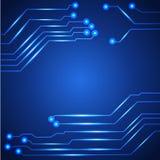 Olá! placa de circuito da tecnologia Foto de Stock Royalty Free