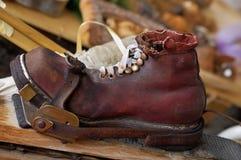 Ol' ski shoe Stock Image