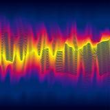 Ola de calor infrarroja Imagen de archivo libre de regalías