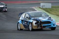 Ola Froshaug 巴塞罗那FIA世界Rallycross 免版税库存图片