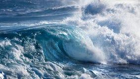 Ola oceánica Imágenes de archivo libres de regalías