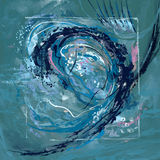 Ola oceánica Imagenes de archivo