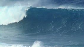 Ola oceánica vacía almacen de metraje de vídeo