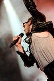 Ola Salo jest Szwedzkim rockowym piosenkarzem Obrazy Royalty Free