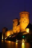 Olaf castle in Savonlinna, Finland (Olavinlinna) Stock Image