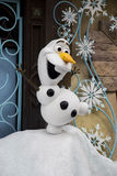 Olaf from Frozen at hong kong disneyland resort Stock Photos