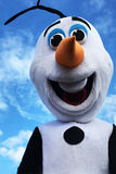 Olaf snowman royalty free stock image