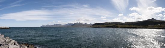Free Olafsvik Bay - Panoramic View Royalty Free Stock Photos - 16481098