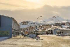 Olafsvik city in Iceland Stock Image