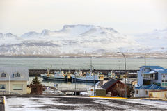 Olafsvik city in Iceland Royalty Free Stock Photography