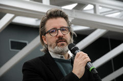 Olafur eliasson_artist显露他在tivoli加尔省的新的设计灯 免版税库存图片