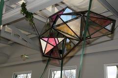 Olafur eliasson_artist wyjawia jego nową projekt lampę w tivoli Gard Zdjęcia Stock