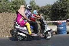 Olaglig osäker körning Royaltyfri Fotografi