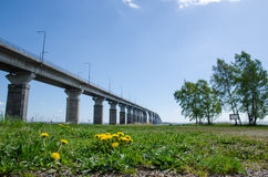 Oland Bridge at spring Royalty Free Stock Photo