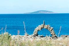Oland - the island of the sun and winds Stock Photos