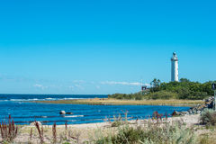 Oland - the island of the sun and winds Stock Photo