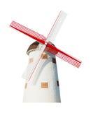 Olandese del mulino a vento isolata Immagini Stock