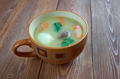 Olandese Pea Soup - Snert Fotografie Stock Libere da Diritti
