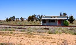Olary Railway View Stock Image