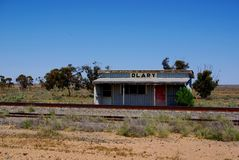Olary Railway View Stock Images