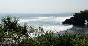 Olas oceánicas Bali 4k metrajes