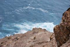 Olas oceánicas en el Océano Pacífico Fotos de archivo libres de regalías