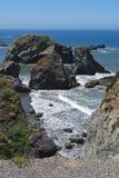 Olas oceánicas en el Océano Pacífico Fotografía de archivo libre de regalías