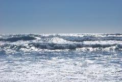 Olas oceánicas en el Océano Pacífico Foto de archivo libre de regalías