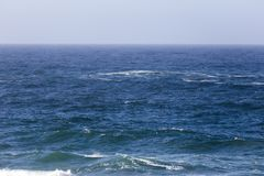 Olas oceánicas pacíficas Imagenes de archivo