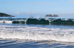 Olas oceánicas pacíficas Fotos de archivo libres de regalías