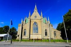 Olaus petri church Stock Photo