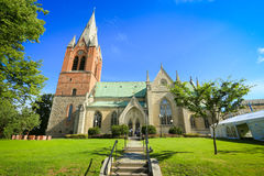 Olaus petri church Royalty Free Stock Photo