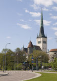 Olav church Stock Photography