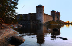 olavinlinna κάστρων Στοκ φωτογραφίες με δικαίωμα ελεύθερης χρήσης