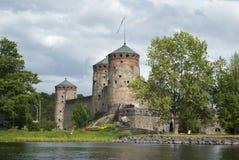 Olavinlinna Royaltyfria Foton