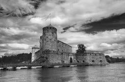 Olavinlinna Fotografering för Bildbyråer
