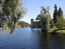 Olavinlinna Castle Stock Image
