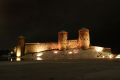 olavinlinna de château Photos stock