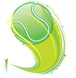 Olaying tenis Obraz Royalty Free