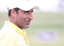 Olazabal  at golf French Open 2010 Royalty Free Stock Photography