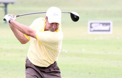 Olazabal no francês do golfe abre 2010 Foto de Stock Royalty Free