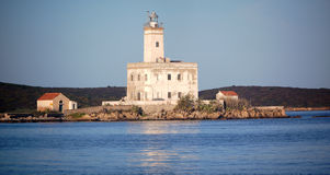 Olbia Lighthouse Royalty Free Stock Images