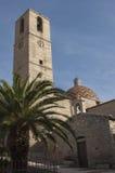 OLBIA/SARDINIA/ITALY Church spire in Olbia Royalty Free Stock Photo