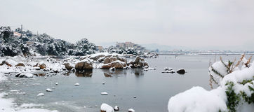 Olbia - Sardinia Winter stock image